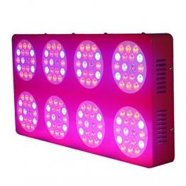 600Watt HPS Ersatz ZNET8 Professionelle Vollspektrum LED Grow Lampe, Pflanzenlampe - 1