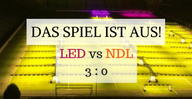 Spielstand LED vs NDS