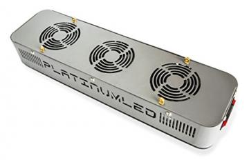 Advanced Platinum Series P150 150w 12-band LED Pflanzenlicht - optimierte Lichtspektren für Aufzucht- und Blütephase im Gewächshaus - 3