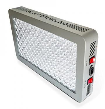 Advanced Platinum Series P450 450w 12-band LED Pflanzenlicht - optimierte Lichtspektren für Aufzucht- und Blütephase im Gewächshaus - 2