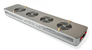Advanced Platinum Series P600 600w 12-band LED Pflanzenlicht - optimierte Lichtspektren für Aufzucht- und Blütephase im Gewächshaus - 3