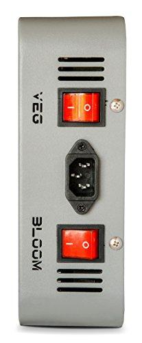 Advanced Platinum Series P600 600w 12-band LED Pflanzenlicht - optimierte Lichtspektren für Aufzucht- und Blütephase im Gewächshaus - 4