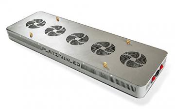 Advanced Platinum Series P900 900w 12-band LED Pflanzenlicht - optimierte Lichtspektren für Aufzucht- und Blütephase im Gewächshaus - 3