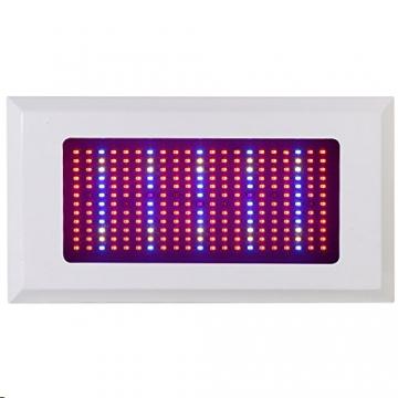 Derlight® 300W Das ganze Spektrum LED Pflanzenlampe für Gewächshaus Pflanze Bluete White Shell IR UV Licht für Zimmerpflanzen Blumen und Gemüse (300W) - 2