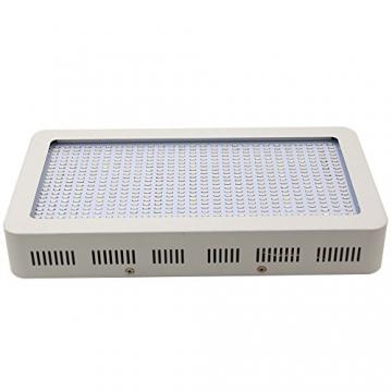 Derlight ® 600W Das ganze Spektrum LED Pflanzenlampe für Gewächshaus Pflanze Bluete White Shell IR UV Licht für Zimmerpflanzen Blumen und Gemüse (600W) - 2