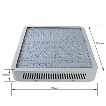 Derlight® 800W Hohe Energie Das ganze Spektrum LED Pflanzenlampe für Gewächshaus Pflanze Bluete White Shell IR UV Licht für Zimmerpflanzen Blumen und Gemüse (800W) - 3