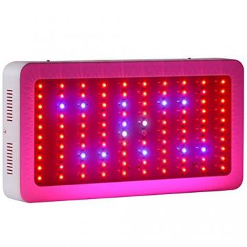 Roleadro 300w Dimmbare LED Grow Wachsen Licht für Gewächshaus Pflanzen 40*21*6CM Pflanzenlampe - 1