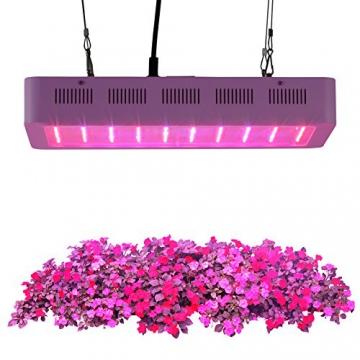 Roleadro ® 600W Led Grow Lamp für Gewächshaus Pflanze vollspektrum IR UV Licht für Zimmerpflanzen Growbox Blumen und Gemüse - 7