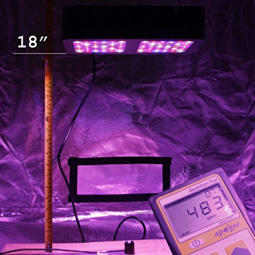 VIPARSPECTRA Reflector 300W LED Grow Light LED Pflanzenlampe Full Spectrum wachsen für Zimmerpflanzen Gemüse und Blumen - 5