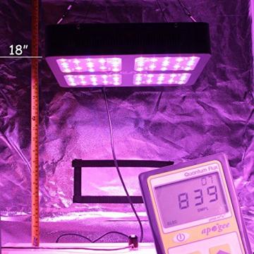VIPARSPECTRA Reflector 600W LED Grow Light LED Pflanzenlampe Full Spectrum wachsen für Zimmerpflanzen Gemüse und Blumen - 5