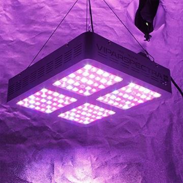 VIPARSPECTRA Reflector 600W LED Grow Light LED Pflanzenlampe Full Spectrum wachsen für Zimmerpflanzen Gemüse und Blumen - 8