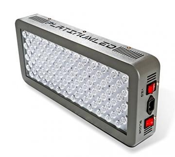 Advanced Platinum Series P300 300w 12-band LED Pflanzenlicht - optimierte Lichtspektren für Aufzucht- und Blütephase im Gewächshaus - 2