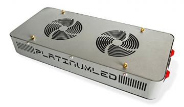 Advanced Platinum Series P300 300w 12-band LED Pflanzenlicht - optimierte Lichtspektren für Aufzucht- und Blütephase im Gewächshaus - 3