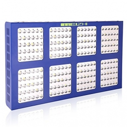 MEIZHI Reflector Series 1200W LED Grow Light Switchable Full Spectrum for Hydroponic Indoor Plants Veg and Bloom -