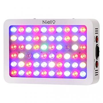 Niello® 300W LED Pflanzenlampe Optical Lens-Series Led Grow Light 12-Bands Full Spectrum Wachsen Licht Led Wachstumslampe Pflanzenlicht für Zimmerpflanzen Gemüse und Blumen - 1