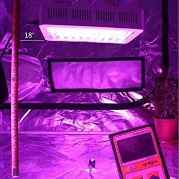 Niello® 300W LED Pflanzenlampe Optical Lens-Series Led Grow Light 12-Bands Full Spectrum Wachsen Licht Led Wachstumslampe Pflanzenlicht für Zimmerpflanzen Gemüse und Blumen - 7